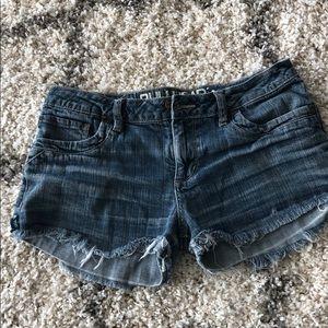 Super cute cutoff jean shorts